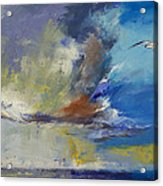Loneliness Acrylic Print by Michael Creese