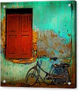 Lonely Bicycle Acrylic Print
