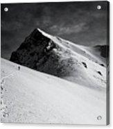 Lonely Climber Acrylic Print