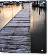 Lonely Dock Acrylic Print