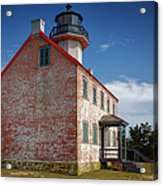 Lonely East Point Lighthouse Acrylic Print