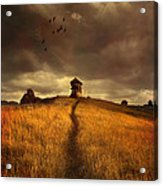 Lonely House On The Hill Acrylic Print