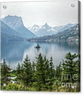 Lonely Island Among Giants Acrylic Print