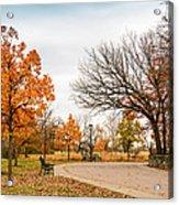 Lonely Park Acrylic Print