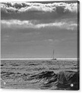 Lonely Sailor Acrylic Print