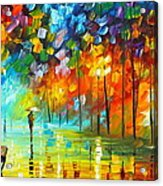 Lonely Stroll 3 Acrylic Print