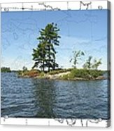 Lonesome Island Acrylic Print