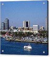 Long Beach Acrylic Print
