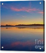 Long Beach Sunset Acrylic Print