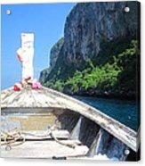 Long Boat Tour - Phi Phi Island - 0113157 Acrylic Print