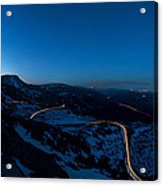 Long Exposure In Serra Da Estrela Portugal Acrylic Print