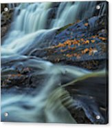 Long Exposure Of Little High Falls Acrylic Print