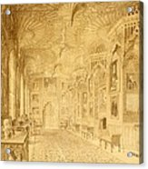 Long Gallery At Strawberry Hill Acrylic Print