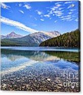 Long Knife Peak At Kintla Lake Acrylic Print