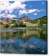 Long Lake Beartooth Pass Acrylic Print
