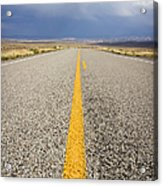 Long Lonely Road Acrylic Print
