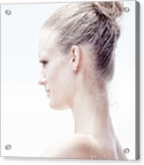 Long Necked Beauty Acrylic Print