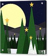 Long Night Moon Acrylic Print