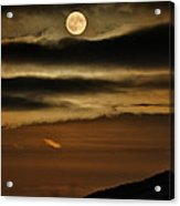 Long Nights Moon Acrylic Print