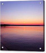 Long Past Sunset Acrylic Print