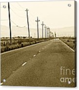 Long Road Home Acrylic Print by Artist and Photographer Laura Wrede