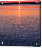 Long Sunset Acrylic Print