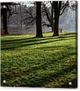Long Winter Shadows Acrylic Print