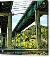 Longest Bridges In Vermont Acrylic Print
