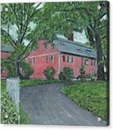 Longfellow's Wayside Inn Acrylic Print