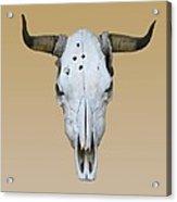 Longhorn Skull Acrylic Print