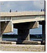 Longport Bridge Acrylic Print