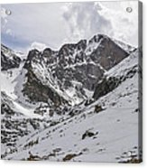 Longs Peak Winter Acrylic Print