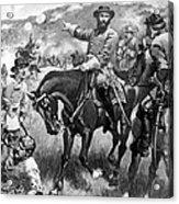 Longstreet At Gettysburg Acrylic Print