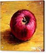 Look An Apple Acrylic Print