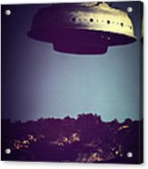 Look... It's A Flying Saucer Acrylic Print