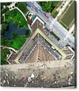 Looking Down From The Eiffel Tower Acrylic Print