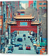 Looking For Chinatown Acrylic Print