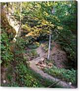 Looking Into Devil's Punch Bowl Wildcat Den Acrylic Print
