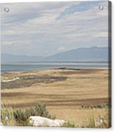 Looking North From Antelope Island Acrylic Print