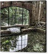 Looking Out 2 - Paradise Springs Spring House Interior  Acrylic Print
