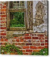 Looking Out At Darien Acrylic Print