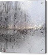 Looking Through The Frost IIi Acrylic Print