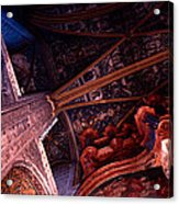 Looking Up Albi Cathedral Acrylic Print