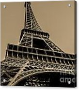 Looking Up At Eiffel Acrylic Print