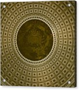 Looking Up Capitol Dome Acrylic Print