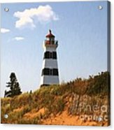 Looking Up From The Dunes At West Point Light Acrylic Print