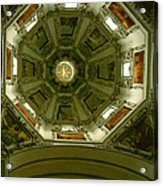 Looking Up Salzburg Cathedral 2 Acrylic Print