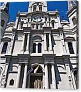 Looking Up St Louis Cathedral Acrylic Print