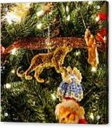 Looking Up The Christmas Tree Acrylic Print