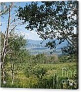 Lookout From Guardsman's Pass Acrylic Print